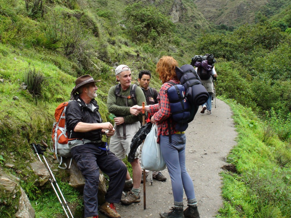 Inca Trail, Day Four: Machu Picchu! (3/6)