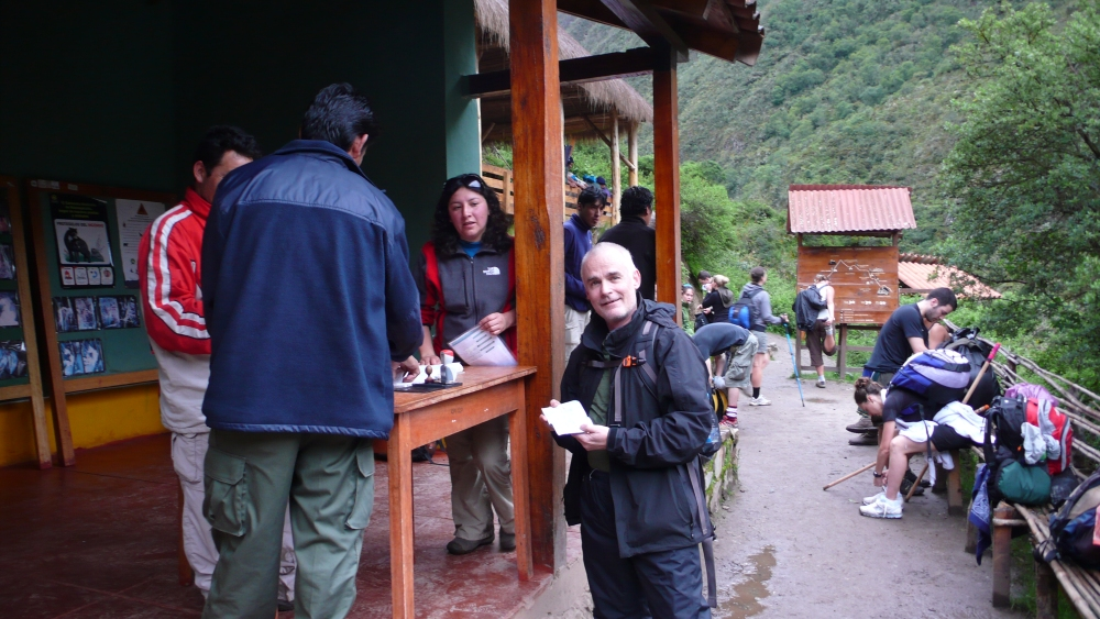 Inca Trail, Day Two: Dead Woman's Pass! (1/6)