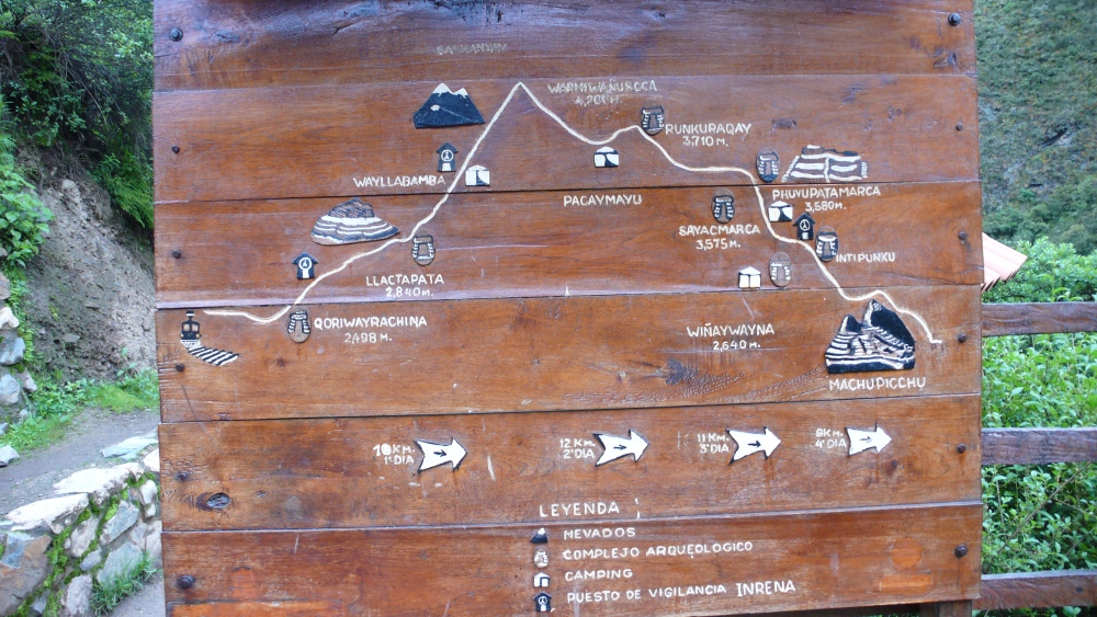 Inca Trail, Day Two: Dead Woman's Pass! (3/6)