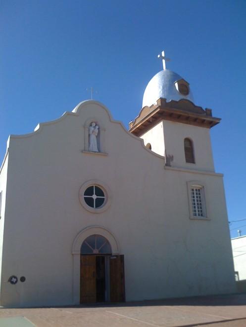 Ysleta Mission in El Paso