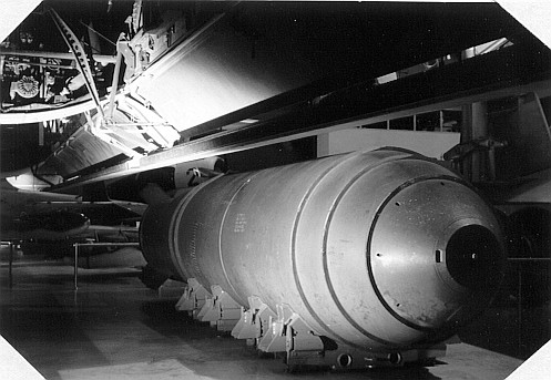 Mk-17m Thermo Nuclear Bomb designed for B-36 delivery