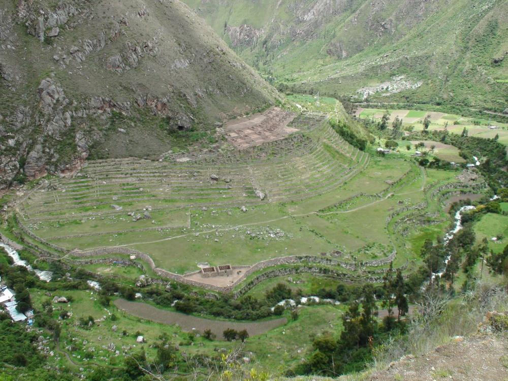 Inca Trail Day One, a Mystery: Llactapata or Patallacta? (5/6)
