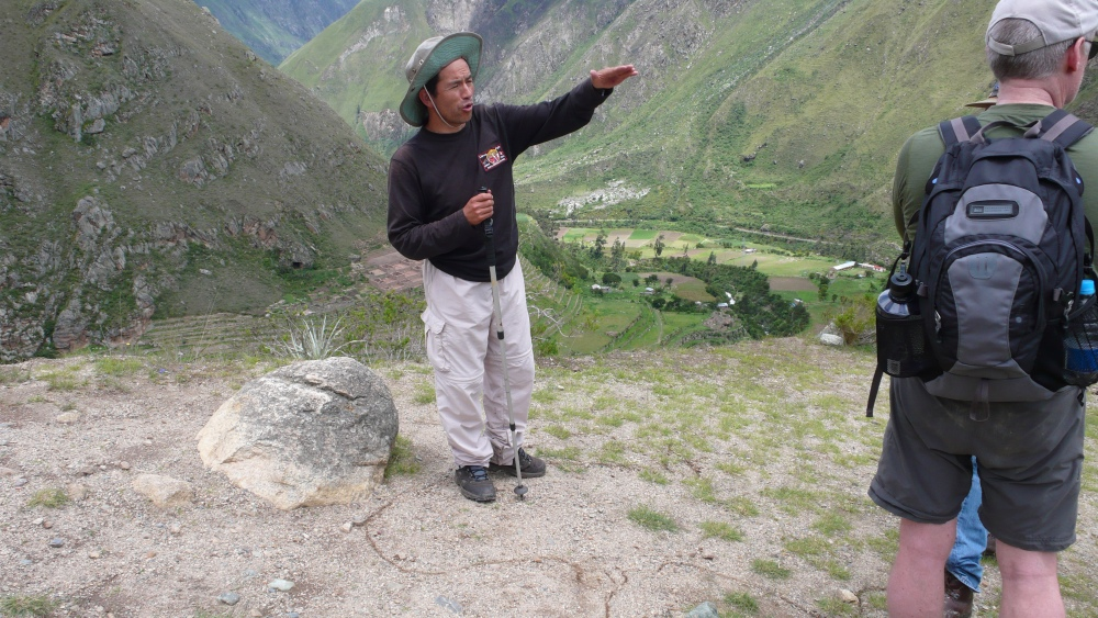 Inca Trail Day One, a Mystery: Llactapata or Patallacta? (6/6)