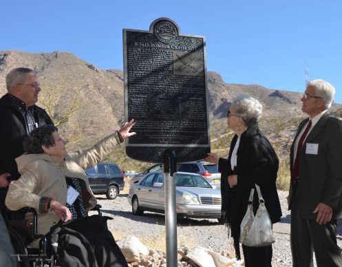 B-36 Historical Marker Unveil 2-LR