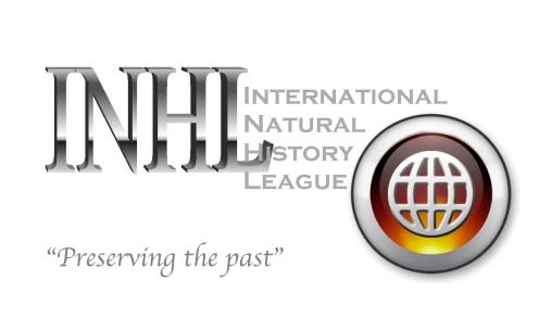 INHL Logo Globe Grey-Preserving the Past