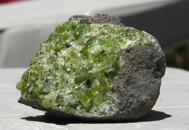 Polished Olivine Basalt Co : Kilbourne hole dave etzold s
