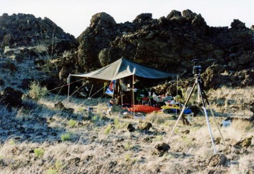 INHL Campsite-Aden Crater 1991