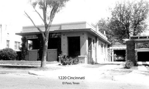 The Etzold home near Madeline Park in Kern Place c. 1960