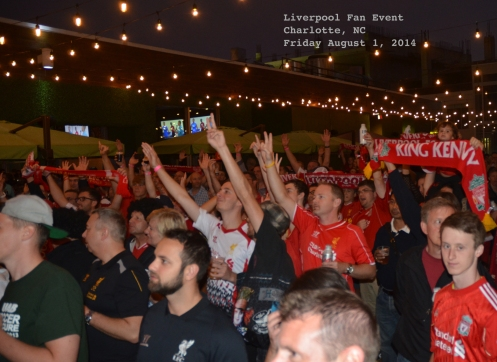 The party heats up as Liverpool legends Robbie Fowler and Ian Rush are introduced to the crowd in Charlotte!
