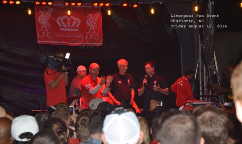 Huge welcome for Legends Ian Rush and Robbie Fowler!