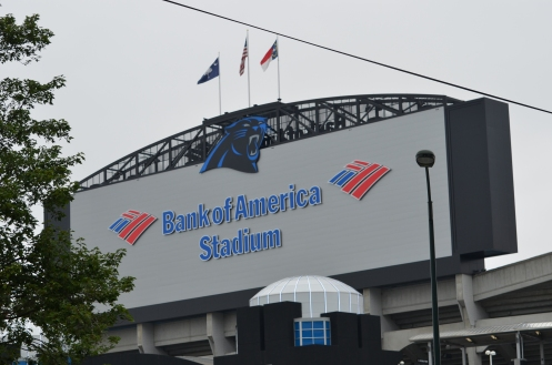 Bank of America Stadium, Charlotte
