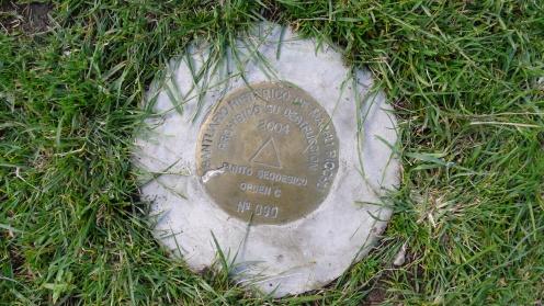 Official Geodetic Marker - Wayllabamba