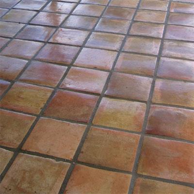 Saltillo Tile-laid
