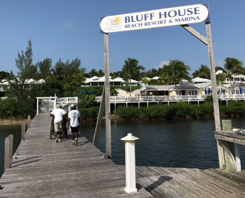 Bluff House-Pier Sign welcome