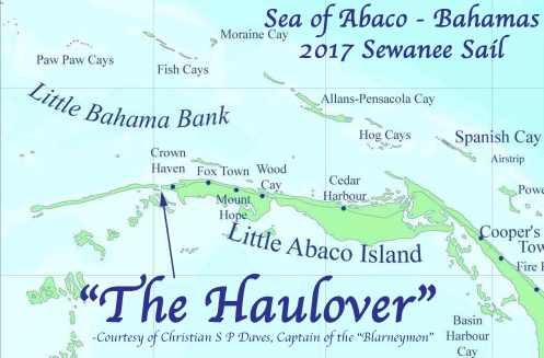 Haulover Map-Abaco 2017