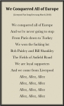 Microsoft Word – We Conquered All of Europe-Liverpool Fan Song-M