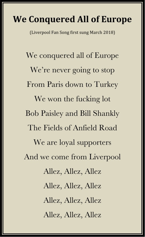 Microsoft Word - We Conquered All of Europe-Liverpool Fan Song-M